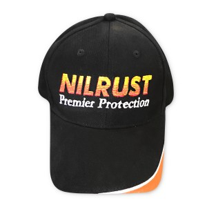 nilrust-embroidery-cap-front