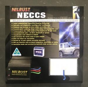 Nilrust NECCS Stand